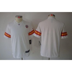 Youth Nike Kansas City Chiefs Blank White NFL Limited Jersey