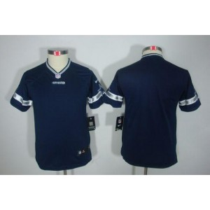 Youth Nike Dallas Cowboys Blank Navy Blue NFL Limited Jersey