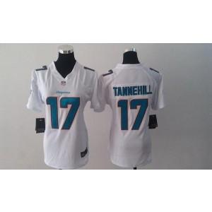 Nike Dolphins 17 Ryan Tannehill White Women  NFL Elite Jerseys