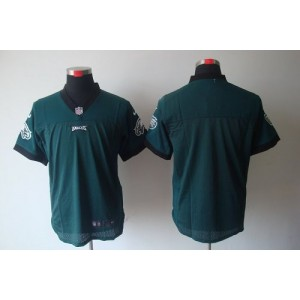 Nike Philadelphia Eagles Blank Midnight Green Elite Jersey