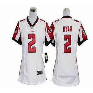 Nike Atlanta Falcons 2 Matt Ryan White WoMen's Elite Jersey