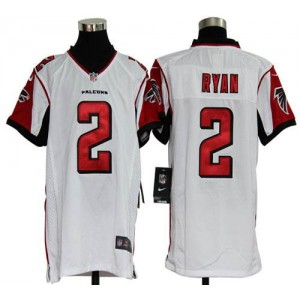 Youth Nike Atlanta Falcons 2 Matt Ryan White Elite Jersey