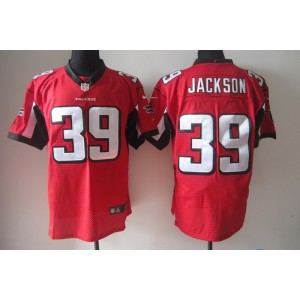 Nike Atlanta Falcons No.39 Steven Jackson Red Game Jersey From