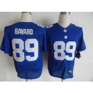 Nike New York Giants No.89 Mark Bavaro Royal Blue Elite Jersey