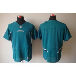 Nike Jacksonville Jaguars Blank Teal Green Elite Stitched Football Jersey