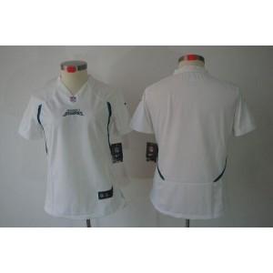 NFL Nike Jaguars Blank White Women's Limited Jersey