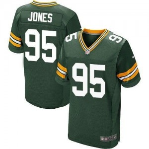 Nike Packers 95 Datone Jones Green Men NFL Elite Jersey