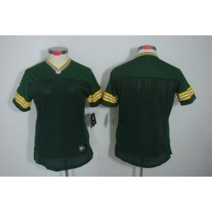 NFL Nike Packers Blank Green Women's Limited Jersey