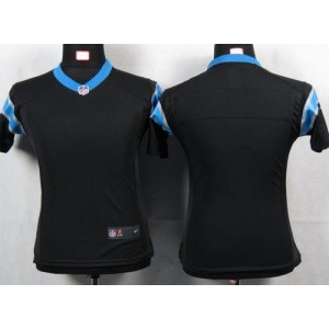 Nike Panthers Blank Black Women's Game Jersey