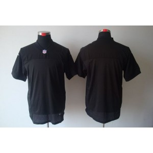 Nike Oakland Raiders Blank Black Elite Jersey