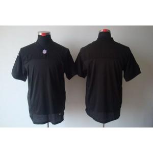 Nike Oakland Raiders Blank Black Elite Jersey