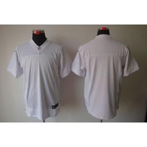 Nike Oakland Raiders Blank White Elite Jersey