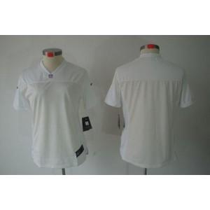 NFL Nike Raiders Blank White Women's Limited Jersey