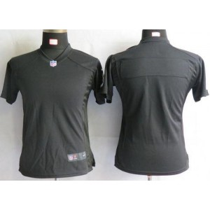 NFL Nike Steelers Blank Black Women's Game Jersey