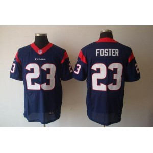 Nike Houston Texans No.23 Arian Foster Navy Blue Elite Stitched Football Jersey