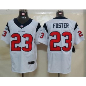 Nike Houston Texans No.23 Arian Foster White Elite Stitched Football Jersey