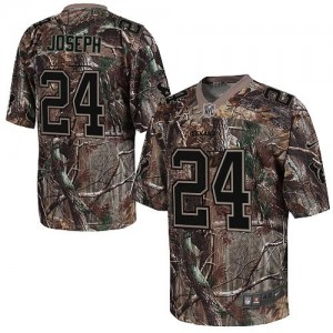 Nike Houston Texans No.24 Johnathan Joseph Camo Realtree Elite Stitched Football Jersey