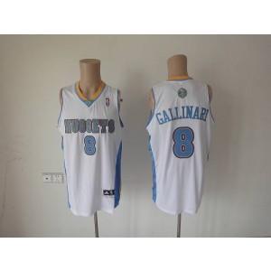 NBA Nuggets 8 Danilo Gallinari White Revolution 30 Men Jersey