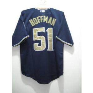 MLB Padres 51 Trevor Hoffman Blue Men Jersey