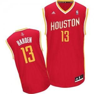 NBA Rockets 13 James Harden Red Revolution 30 Men Jersey
