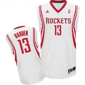 NBA Rockets 13 James Harden White Home Revolution 30 Men Jersey