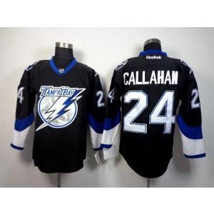 NHL Lightning 24 Ryan Callahan black 3rd Men Jersey