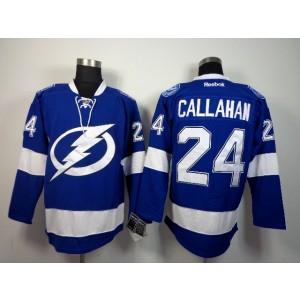 NHL Lightning 24 Ryan Callahan blue Men Jersey